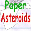 Papír aszteroid Icon